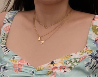 Pineapple Necklace - M1506