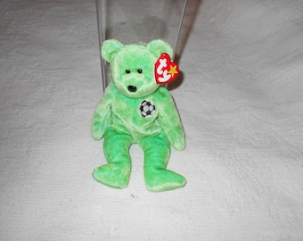 1998 TY Beanie Baby Kicks tag Errors Stored in container
