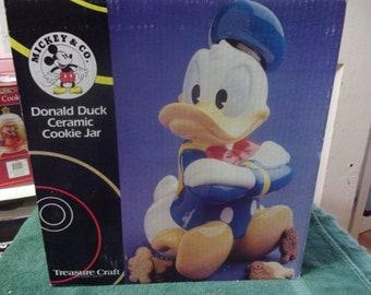 Treasure Craft Donald Duck Cookie Jar