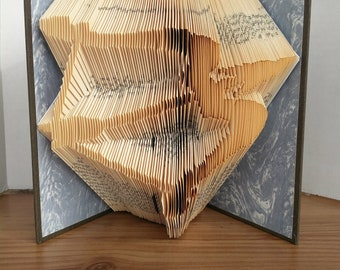 Archery - Folded Book Art - Fully Customizable, bow and arrow