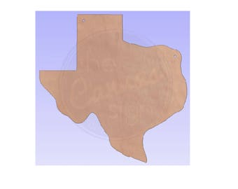 Unfinished Wood Texas Shape Cutout - DIY - Wreath Accent - State -  Door Hanger - Ready to Paint & Personalize