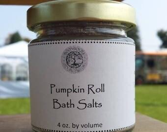 Pumpkin Roll Bath Salts