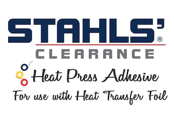 """11.8"""" x 5 Yards - Stahls' CAD-CUT® Heat Press HTV Adhesive - Use with Foils"""