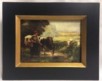 """Framed Oil Painting 8""""x 10"""""""