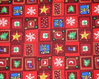 Christmas Quilting Fabric, Christmas Fabric, Quilting Fabric, Christmas Quilt, Holiday Fabric, Holiday Quilting Fabric