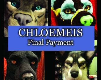 Final Payment for Cholemeis - Skull Fox Mask
