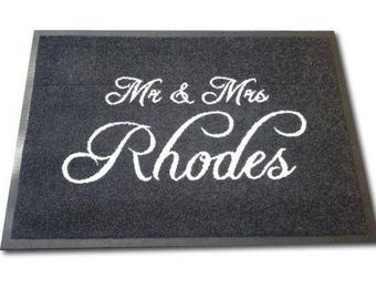 Personalise: Mr. & Mrs. Rhodes