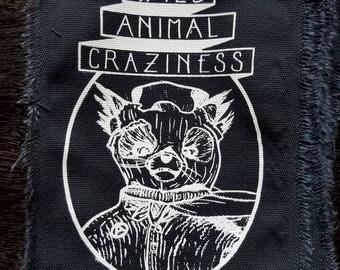 Wild Animal Craziness - Punk Patch