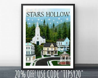STARS HOLLOW SPRING 3 -  Inspired by Gilmore Girls