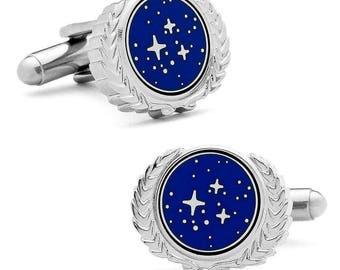 Star Trek United Federation of Planets (UFP) Cufflinks