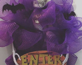 Small Halloween Wreath