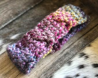 Rainbow Cable Headband