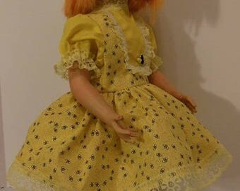 "Bees Are A Buzzin' Dress Set for 22"" Vogue Brikette Dolls"