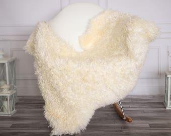 Gotland Sheepskin Rug | Curly fur Rug | Curly Sheepskin Rug | Curly Sheepskin | Christmas Decor | GOTNOVHER24