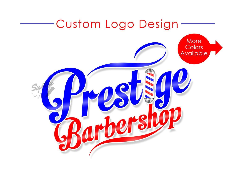 barbershop logo custom logo logo design logo custom