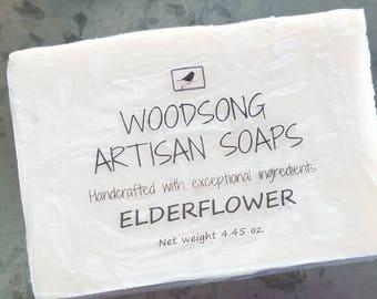 Elderflower Artisan Soap