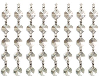 "Replacement Chandelier Crystal Prism - 5"" K9 Quality Beads - 10-Pack"
