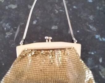 Goldmesh purse small bag