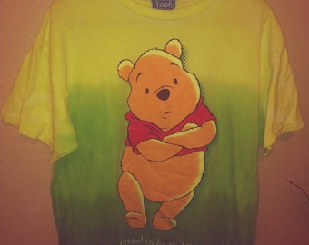 1990s Winnie the Pooh Large Ombre t-shirt