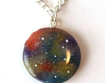 OOAK Galaxy Necklace