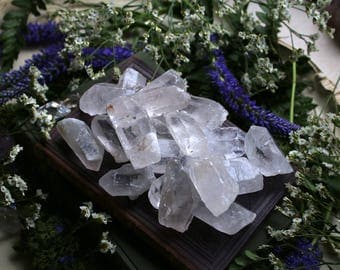 Big Rough Clear Quartz Points
