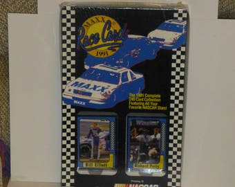 1991 Maxx  NASCAR Race Cards Factory   Set