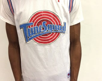 Vintage Space Jam Tune Squad Micheal Jordan #23 Champion Jersey