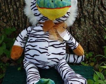 Toy. FrankenFuzzie, Soft Sculpture, Stuffed Animal, Toy