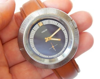 Pobeda Watch Soviet Mechanical Watches Pobeda Mens Watch Vintage Watches Pobeda Made In USSR 70's