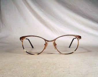 fabulous vintage sunglasses lunettes eyeglasses FABERGE carved frame france