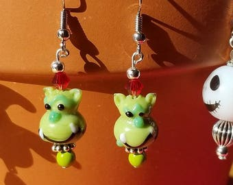 Halloween Earrings - Ogre