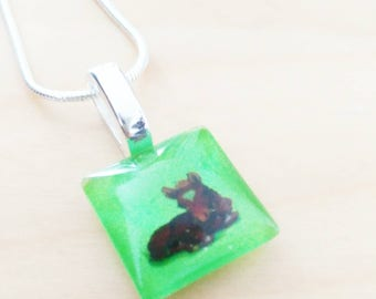 CLEARANCE! Horse necklace / horse necklace
