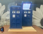 TARDIS Inspired Ring Box w/ LED Lighting