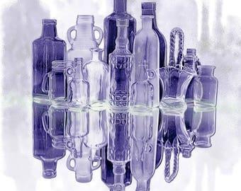 Purple Glass - Fine Art - Kitchen Decor - Purple - Color of the Year