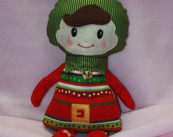 Elf Doll - Super Cute Christmas Elf Doll - Boy Elf Doll - Baby Safe