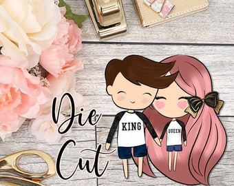 Die Cut- Cute Dolls- Couples