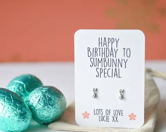 Sumbunny special bunny rabbit earrings