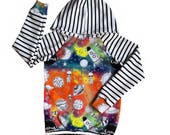 Alien Galaxy sweatshirt hoodie, baby hoodie, toddler hoodies, hoody, baby sweatshirts, baby girls, baby boys, unisex, gender neutral