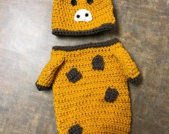 Giraffe Baby Cocoon Set