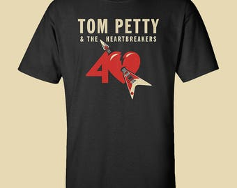 Tom Petty and the Heartbreakers T-Shirt //// Black Tee //// Small to 5XL