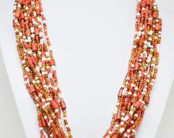 Gorgeous Multi Strand Necklace