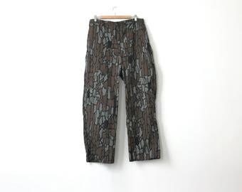 Tree Bark 90s Camo Pants - 34 in. Wasit