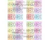 Anxiety Tracker Stickers Personal Planner Size