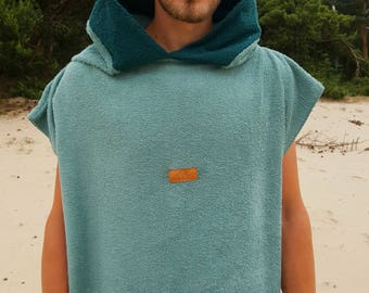 SUR-F-ACE Handmade Fairtrade Cotton SURFPONCHO
