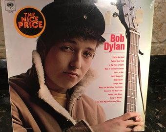 "Bob Dylan ""Self Titled Debut"" Sealed New NOS Vintage LP Vinyl Record - Great Condition - Free Shipping!"