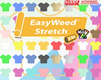"Siser Easyweed Stretch 3 Sheets (15"" x 12"") Up to 3 Colors!"
