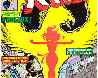 Uncanny Xmen 125, Marvel Comics, Storm, Phoenix, Wolverine, Charles Xavier, Nightcrawler, Colossus, 1979 comic book. Choose VF+ or NM- (9.2)