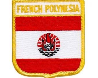 French Polynesia Patch