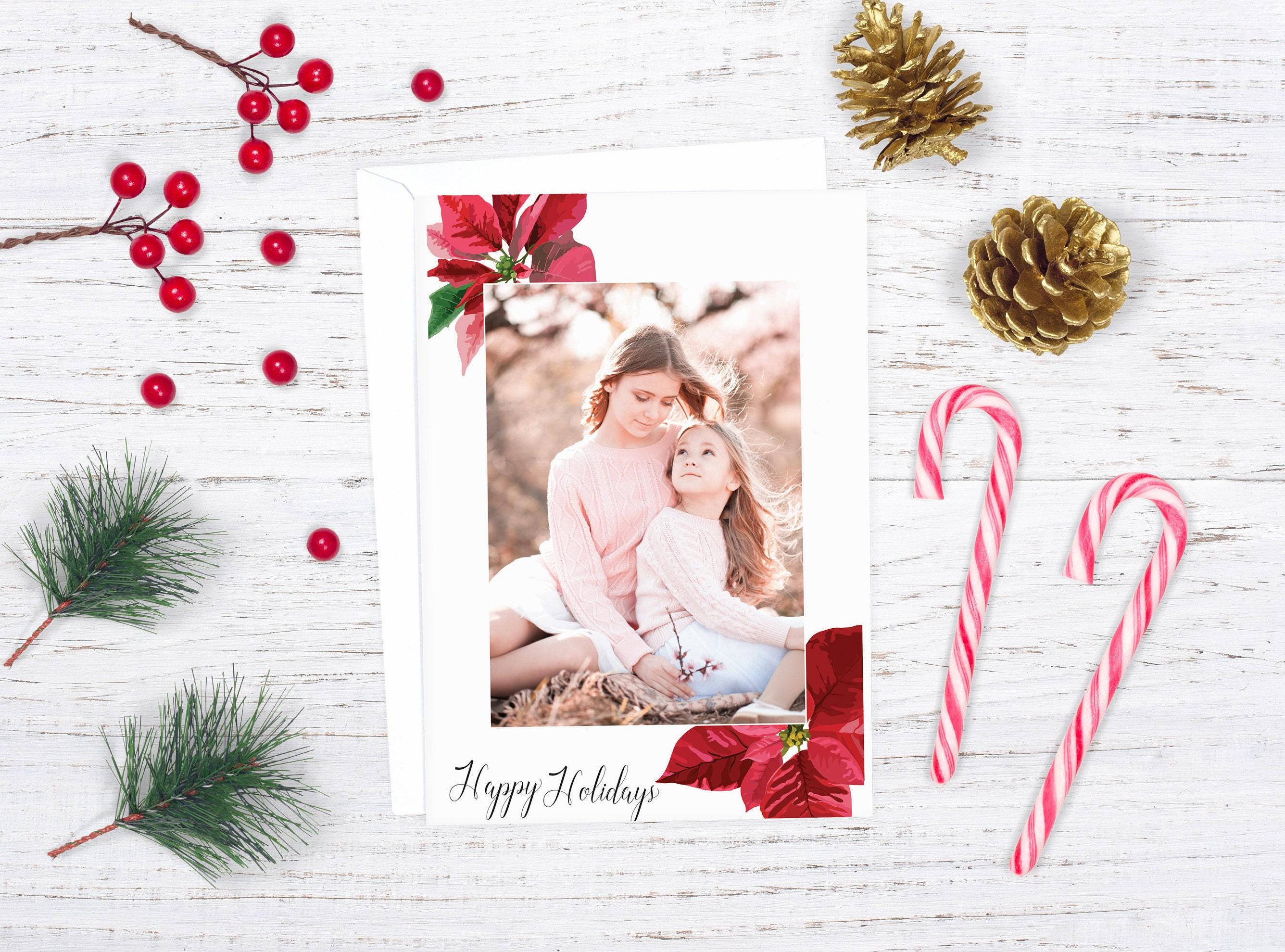 Happy holidays photo card family christmas card photo holiday card happy holidays photo card family christmas card photo holiday card client christmas card m4hsunfo