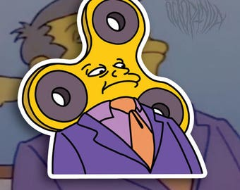 Principal Spinner - Pack of 5 Stickers